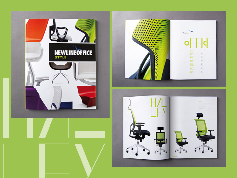 New Line Office brochures e cataloghi