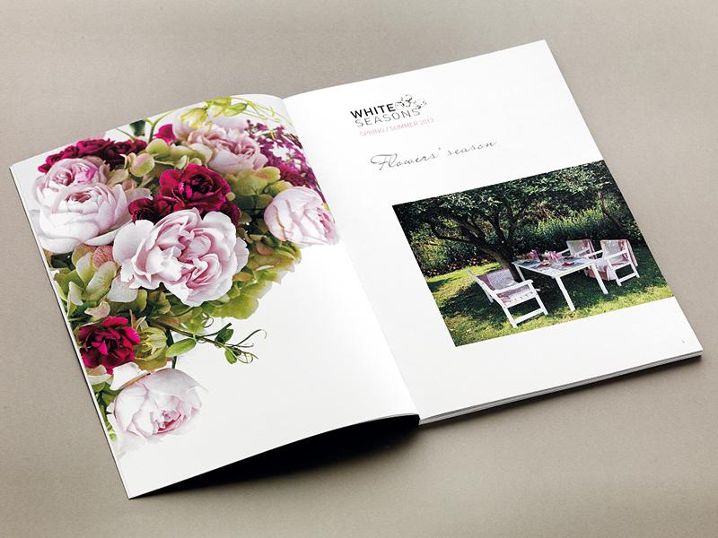 White Season brochures e cataloghi