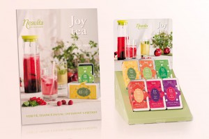 Neavita packaging joy tea