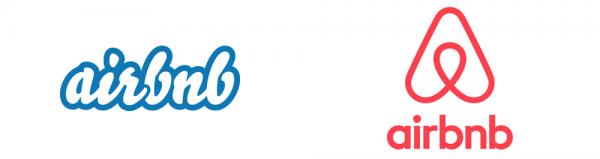 AirBnb Evoluzione del Logo