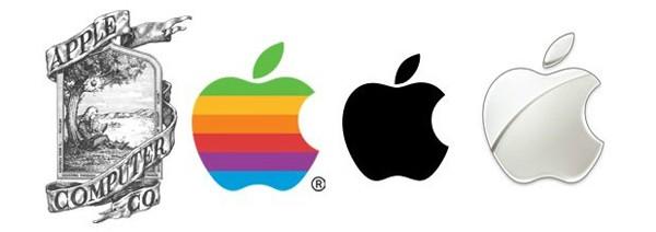 Apple Evoluzione del Logo