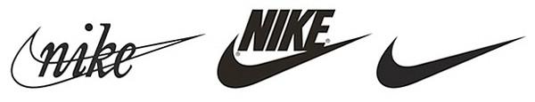 Nike Evoluzione del Logo