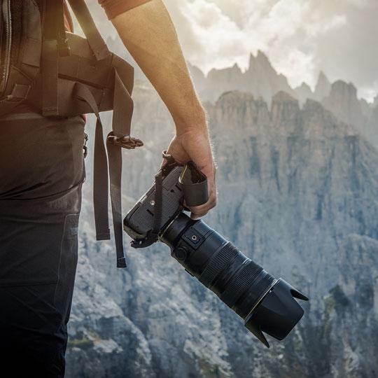 Progetto di design e fotografico per Vite-in-Viaggio.